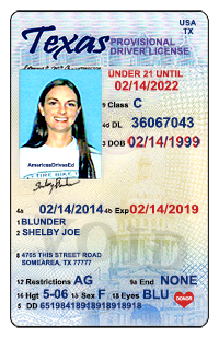 Texas Drivers License