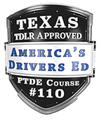 America's Drivers Ed Course Badge Logo