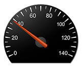America's Drivers Ed Speedometer for Interactive Guide